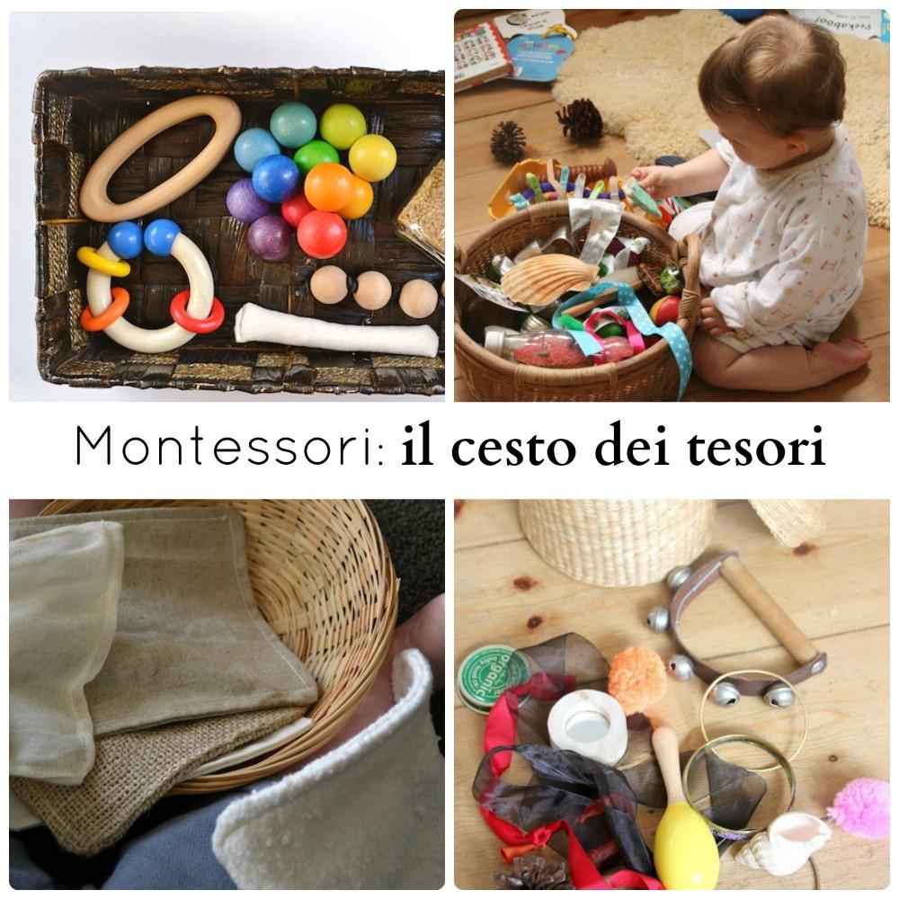 Montessori Il Cesto Dei Tesori Babygreen