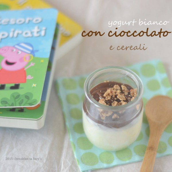 yogurt cioccolato e cereali