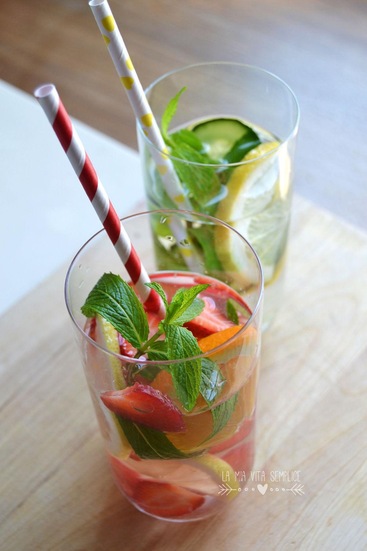 Acqua aromatizzata alla frutta fatta in casa - BabyGreen
