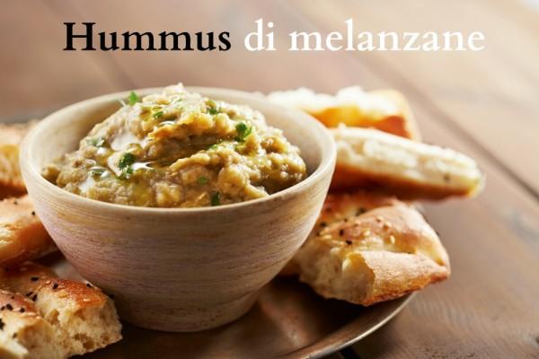 Hummus di melanzane ricetta