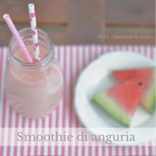 smoothie di anguria