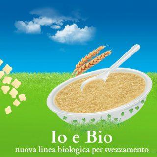 Io e Bio: nuova linea biologica per svezzamento