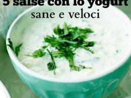 5 salse con lo yogurt sane e veloci