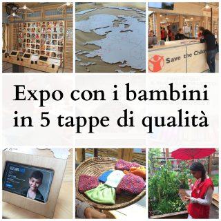 Expo con i bambini in 5 tappe di qualità