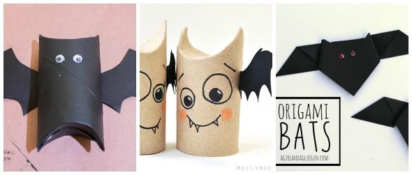 Halloween fai da te: pipistrelli