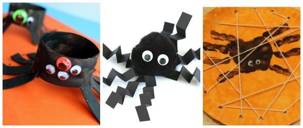 Halloween fai da te: ragni