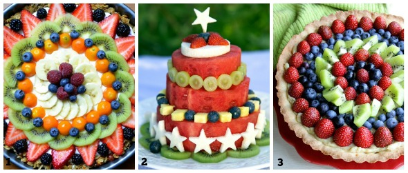 collage torte compleanno green