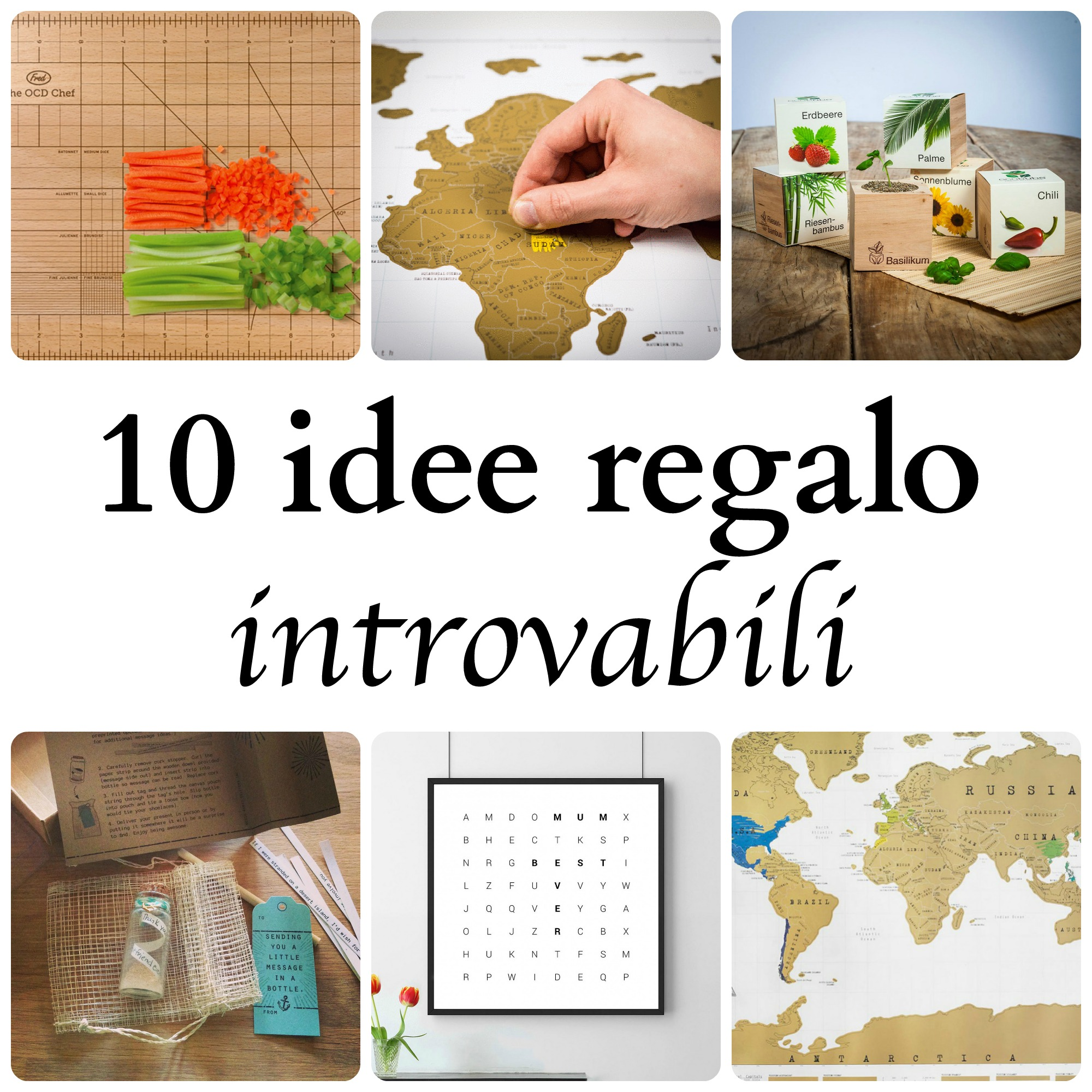 10 idee regalo introvabili babygreen for Idee regali