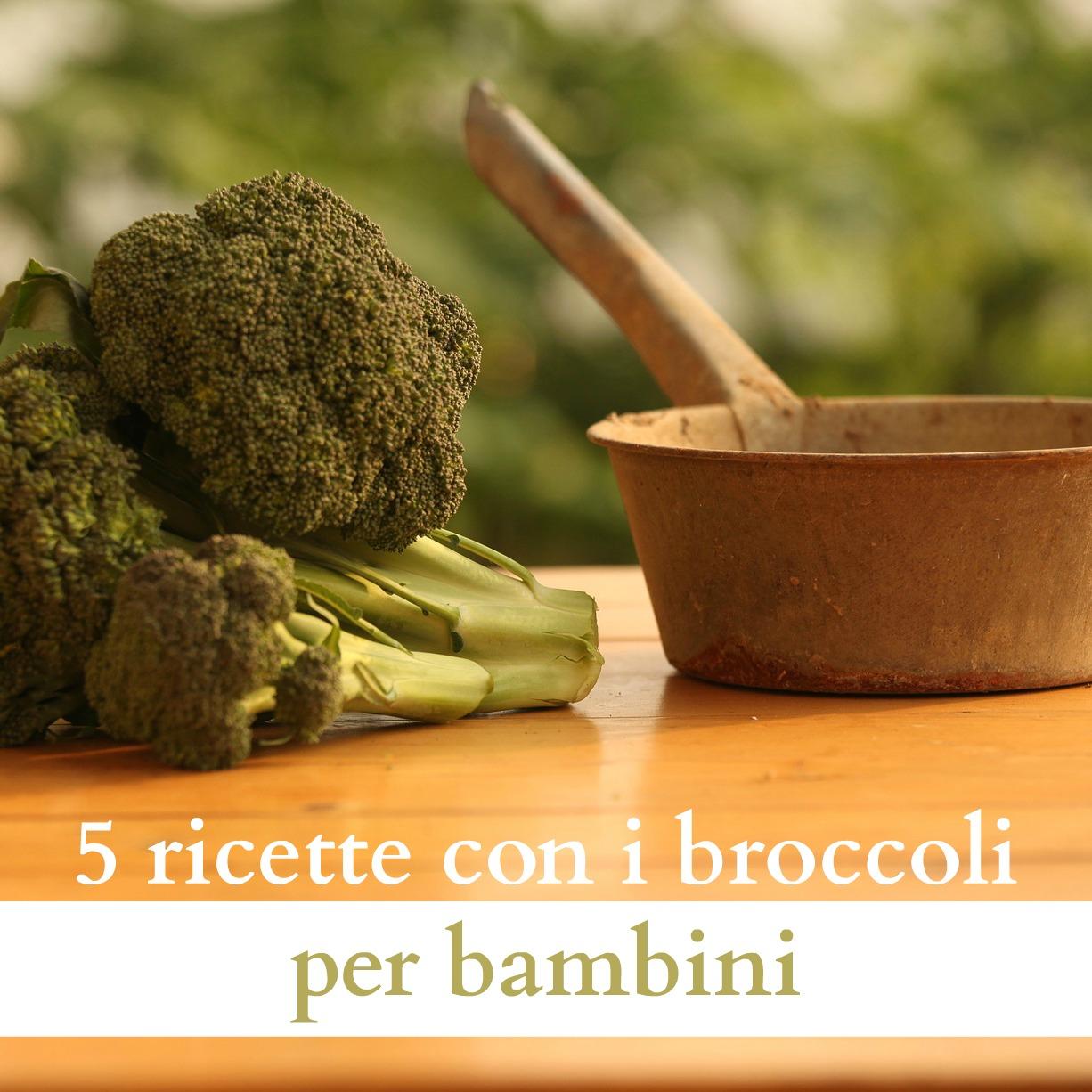 5 ricette con i broccoli per bambini babygreen for Ricette per bimbi