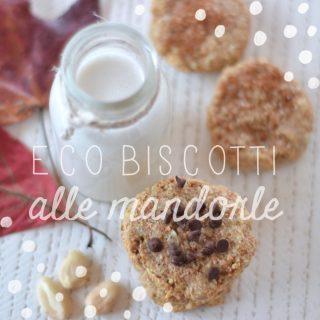 Eco-biscotti alle mandorle