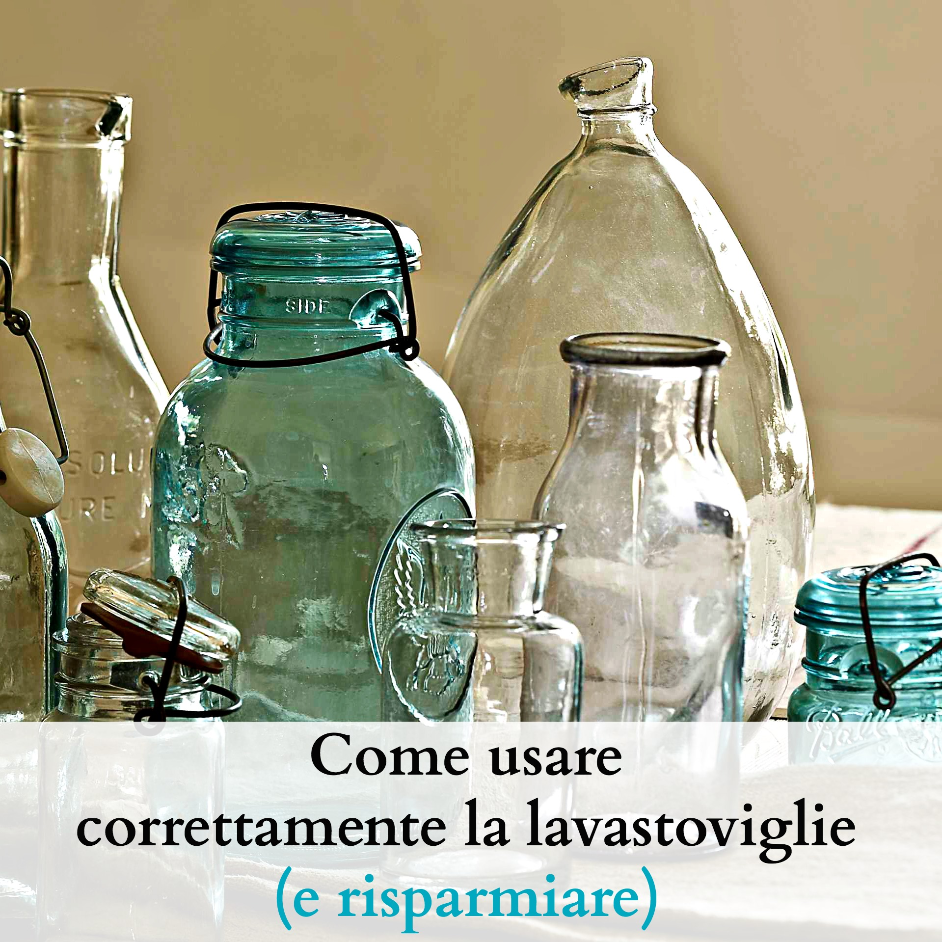 Come usare correttamente la lavastoviglie e risparmiare for La lavastoviglie