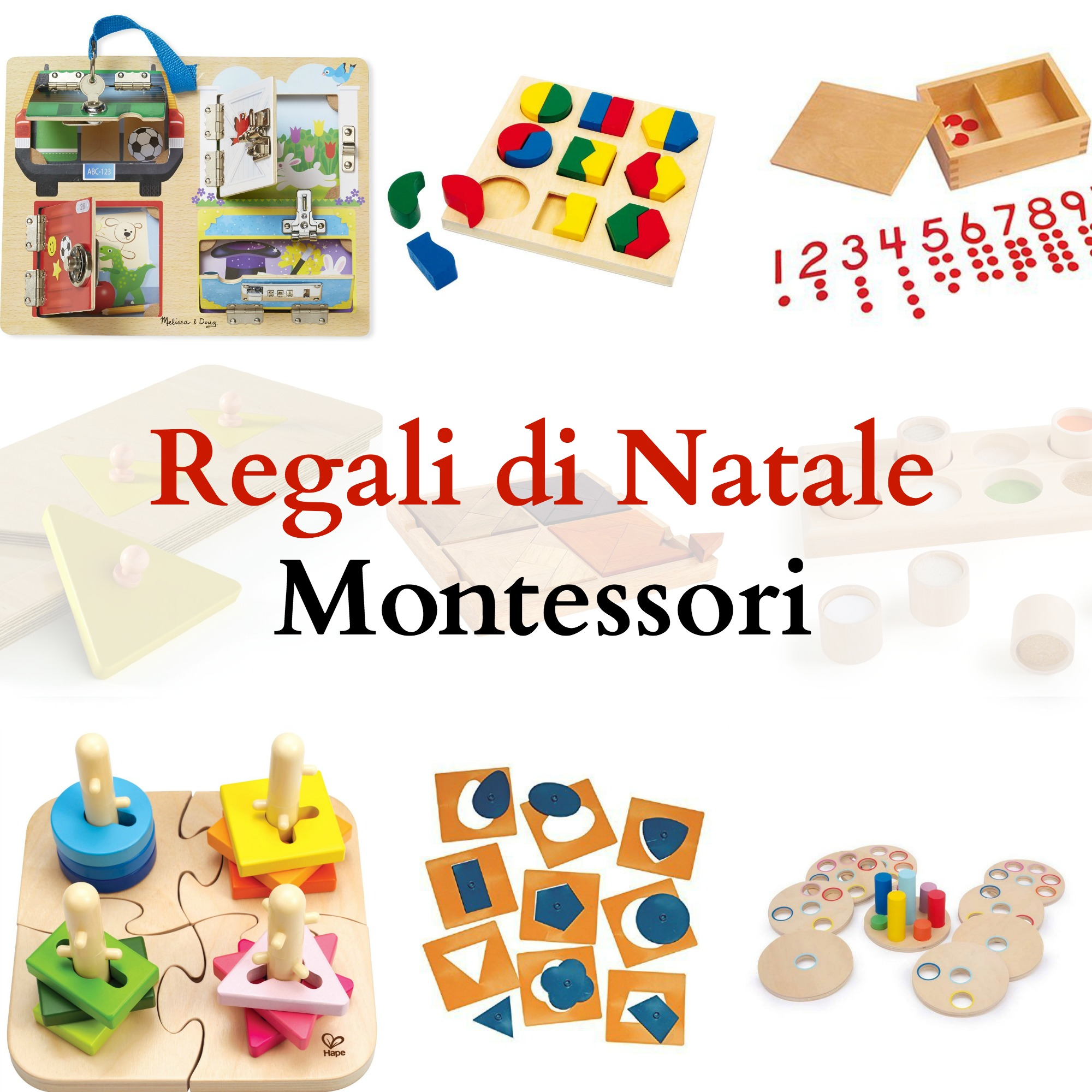 Regali di natale montessori babygreen for Idee regali