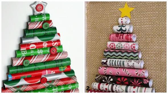 Lavoretti Di Natale Con La Carta Riciclata Dei Regali