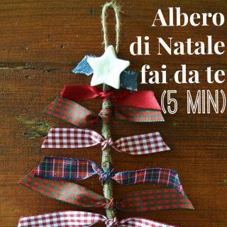 Albero di Natale fai da te (in 5 minuti)