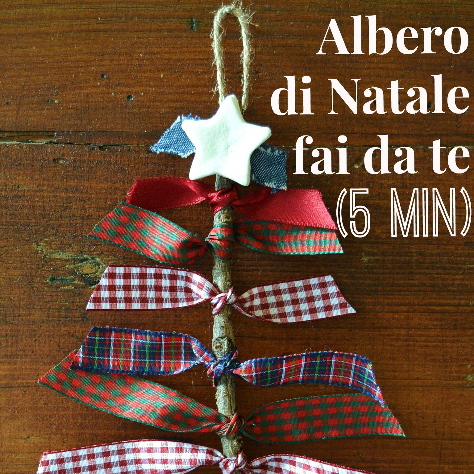 Albero di natale fai da te in 5 minuti babygreen - Decorazioni per natale fai da te ...