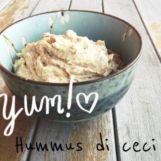 Hummus di ceci (in 5 minuti)