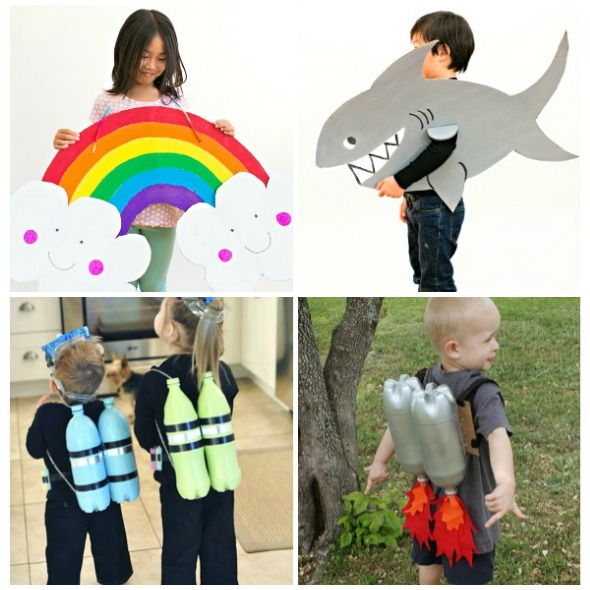 Costumi di carnevale per bambini fai da te 590x590 babygreen for Costruire la mia piccola casa online
