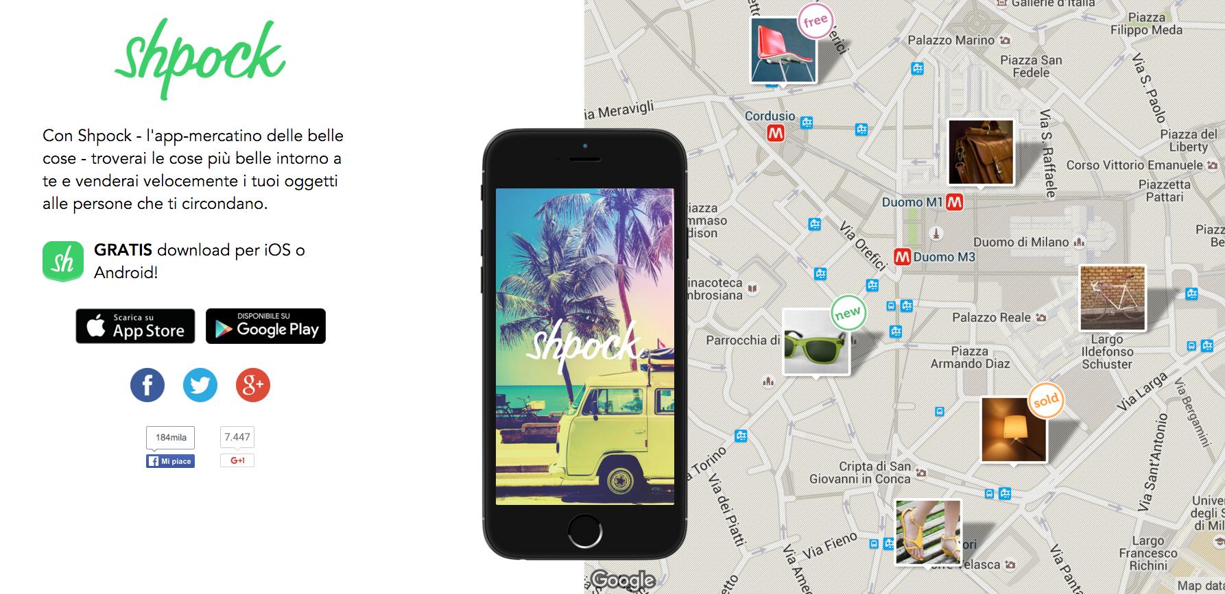 Shpock-app-mercatino