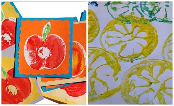 Timbri di frutta e verdura