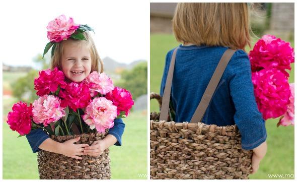 costume cesto di fiori