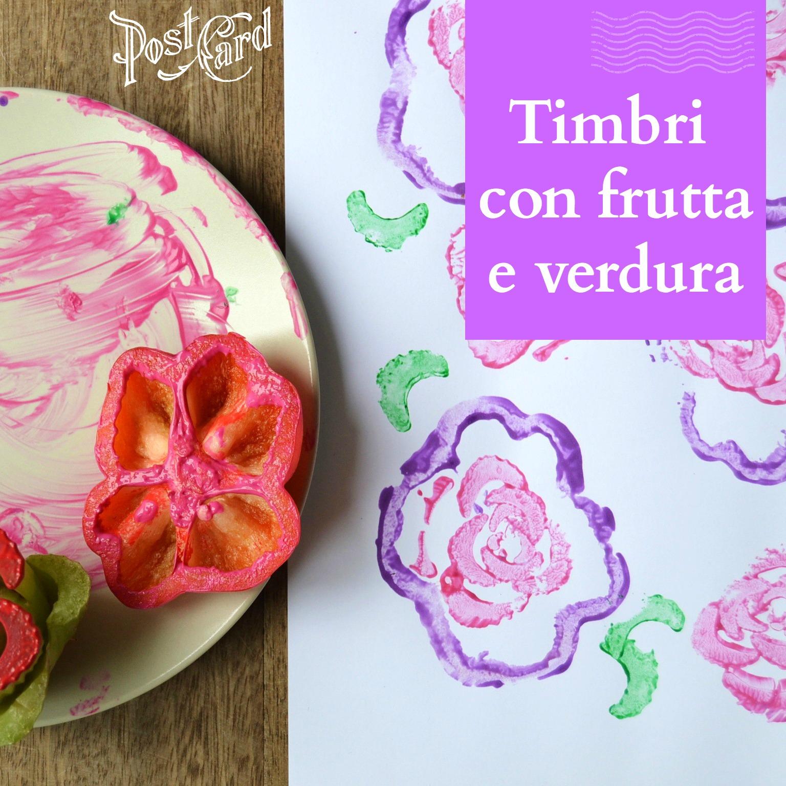 Super Timbri con frutta e verdura per bambini - BabyGreen JA34