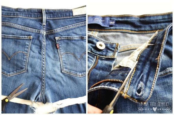Come riciclare i jeans in un grembiule