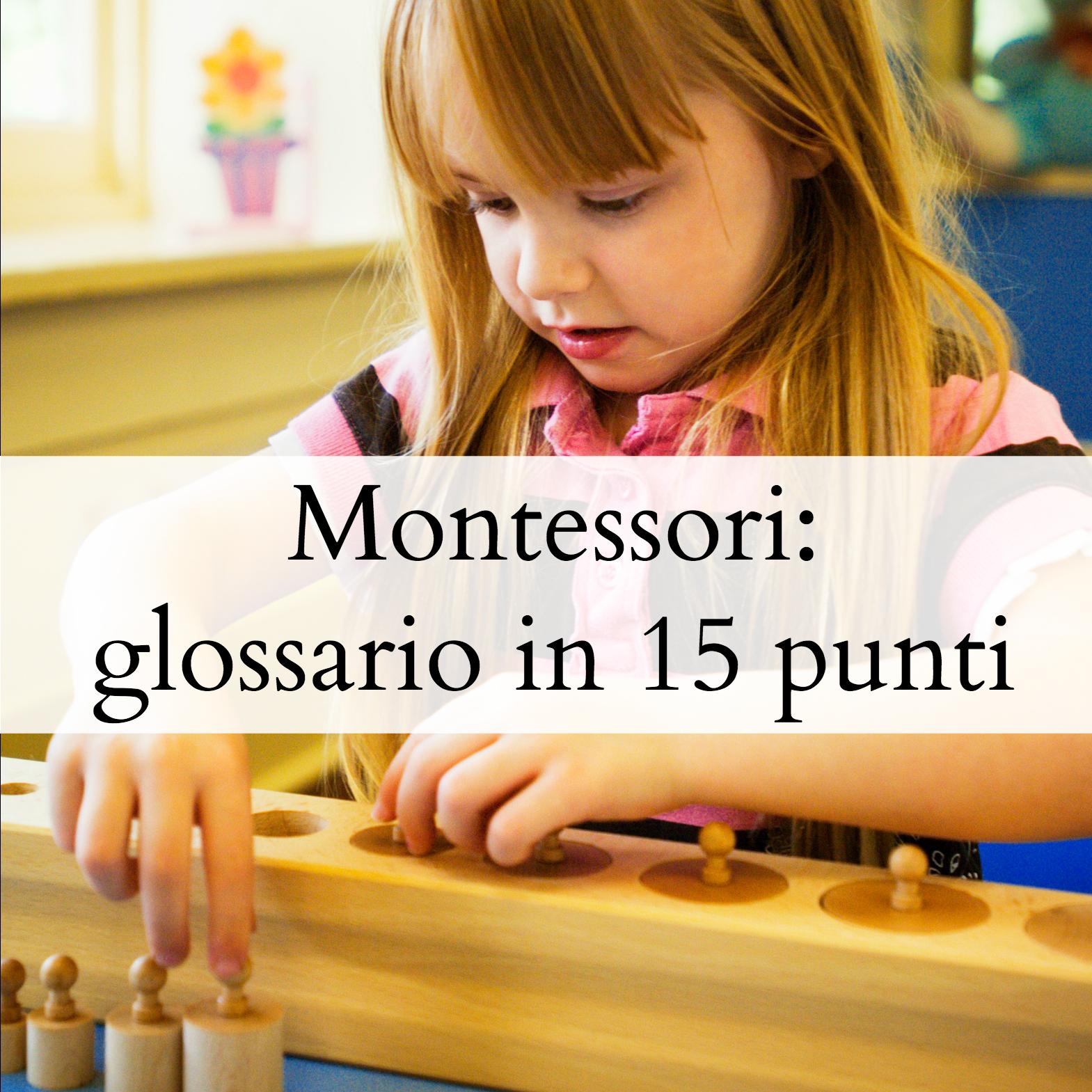 montessori-glossario