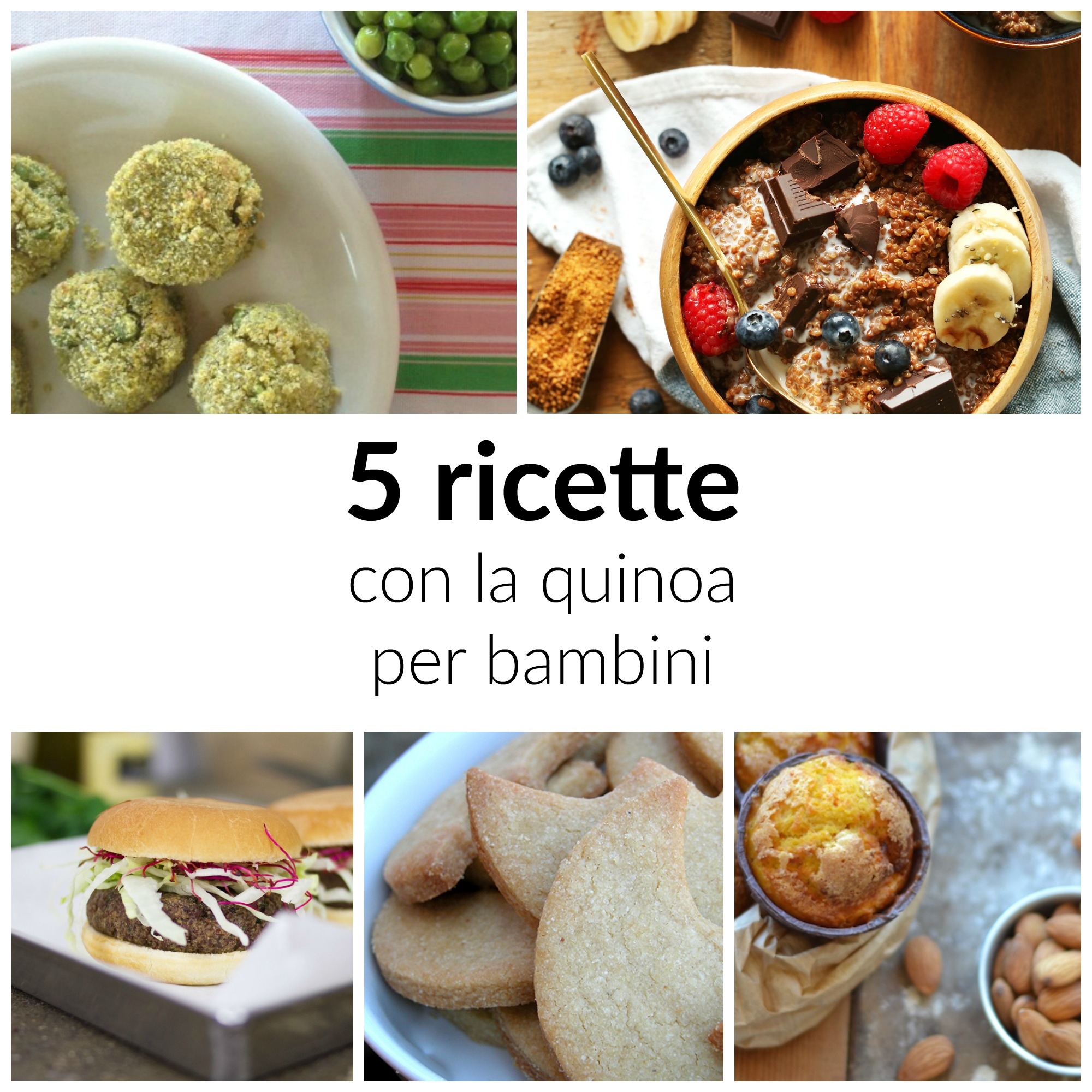 Ricette con la quinoa per bambini babygreen for Ricette bambini