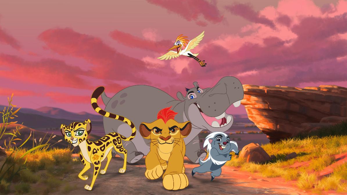 THE LION GUAR