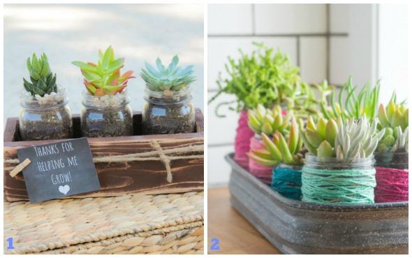 Decorazioni di primavera con i barattoli di vetro babygreen for Progetti di vetro per la casa