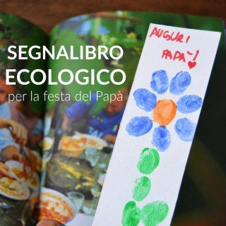 Festa del Papà: il segnalibro ecologico