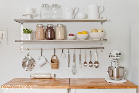 10 idee per organizzare una cucina piccola - BabyGreen