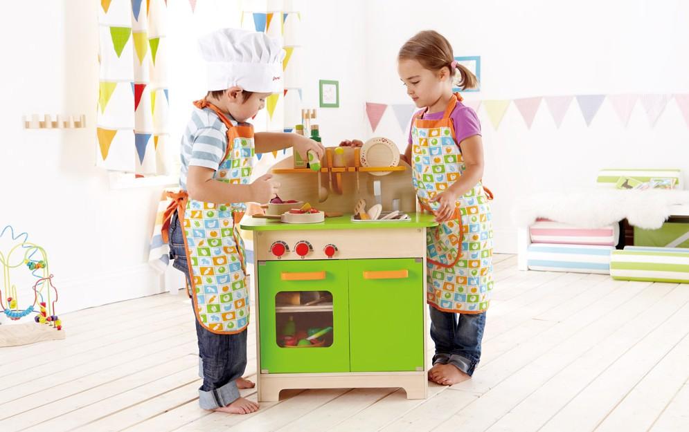 10 giochi di cucina per bambini (100% ecologici) - BabyGreen