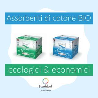 Assorbenti di cotone bio (ecologici ed economici)