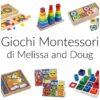 I giochi Montessori di Melissa and Doug