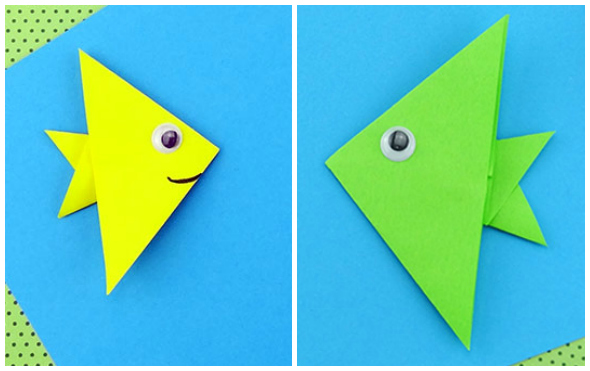 Pesce origami