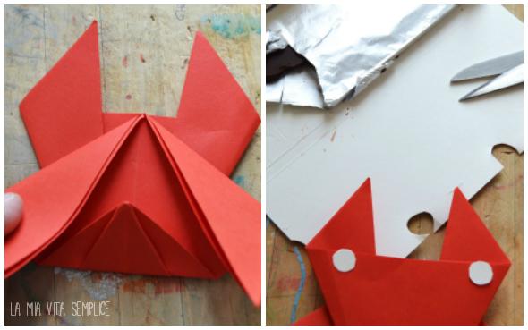 Granchio origami