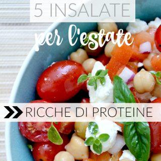 5 insalate estive (ricche di proteine)