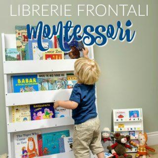 5 librerie (frontali) Montessori
