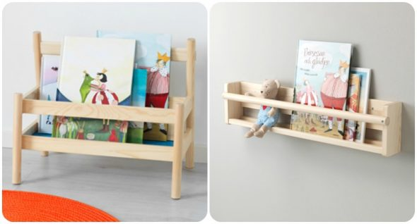 5 librerie frontali montessori babygreen for Box bimbi ikea