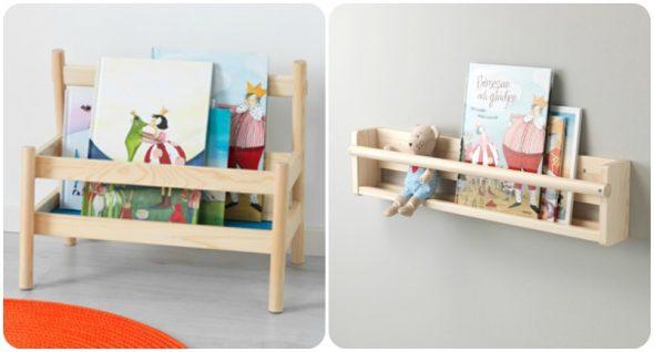 Scaffali Ikea Per Bambini : 5 librerie frontali montessori babygreen