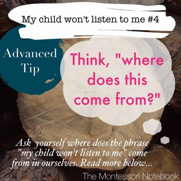 """Estremamente Mio figlio non ascolta"""": 10 consigli Montessori per cambiare le  NR84"""