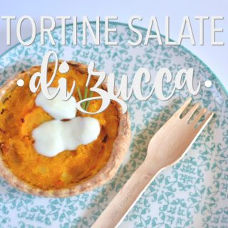 Tortine salate di zucca (senza uova)