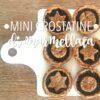 Mini crostatine di marmellata