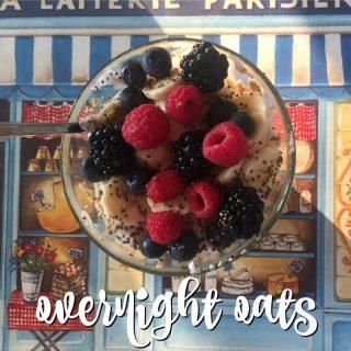 La mia colazione (veloce) preferita: overnight oats