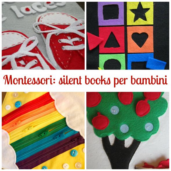 Montessori: silent books per bambini