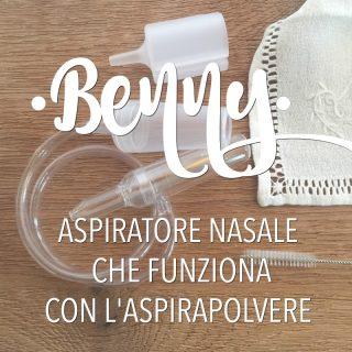 Benny: aspiratore nasale che funziona con aspirapolvere