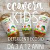 ECOVERA KIDS: detergenti ecobio per bambini da 3 a 12 anni