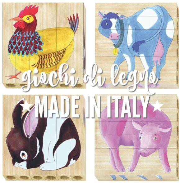 Giochi di legno made in Italy