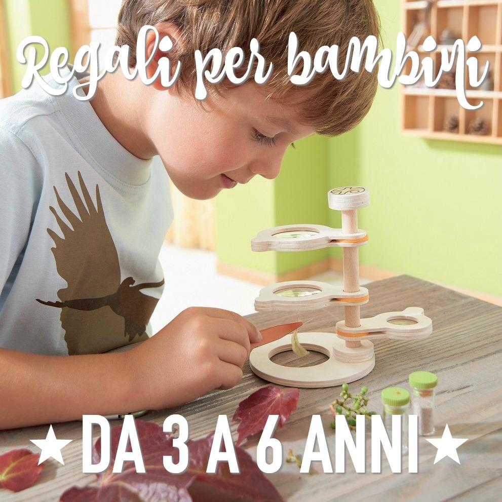 Regali per bambini di 3 4 5 6 anni for Regali per venticinquesimo